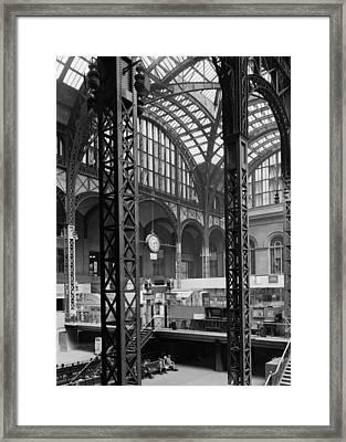 Pennsylvania Station, Interior, New Framed Print
