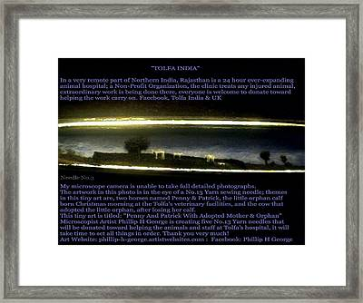 Penny And Patrick With Adopted Mother And Orphan   Framed Print by Phillip H George