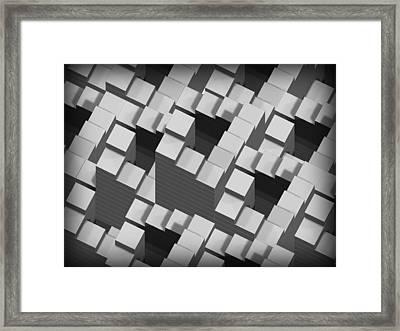 Penrose Stairs, Artwork Framed Print