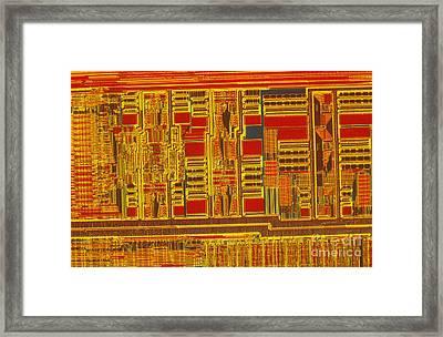Pentium Framed Print by Michael W. Davidson