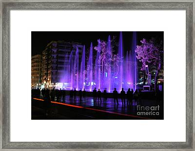 Framed Print featuring the photograph People by Erhan OZBIYIK