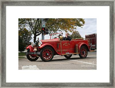Peoria Illinois Framed Print by Roger Look