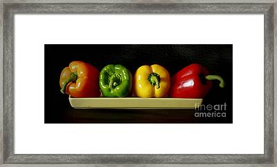 Pepper Delight Framed Print by Inspired Nature Photography Fine Art Photography