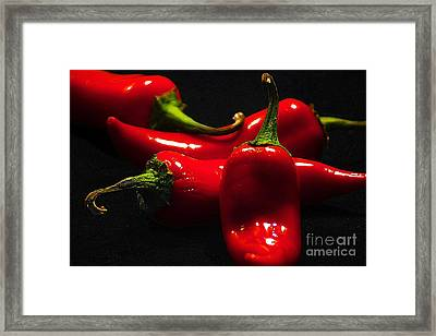Peppere Framed Print by David Taylor