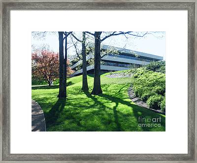 Framed Print featuring the digital art Pepsico by David Klaboe