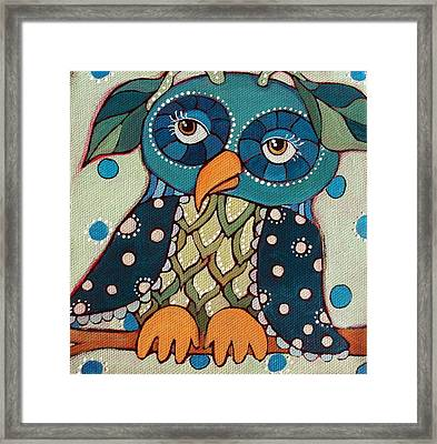 Perched Framed Print by Suzanne Drolet
