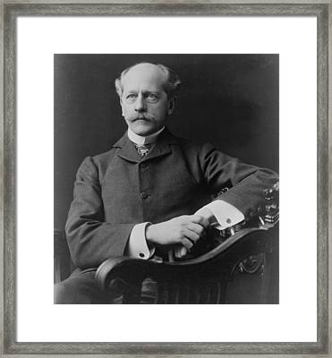 Percival Lowell 1855-1916 American Framed Print by Everett