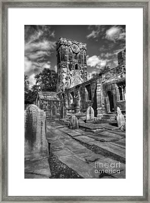 Perditit Ecclesia Tres Framed Print by John Ellison