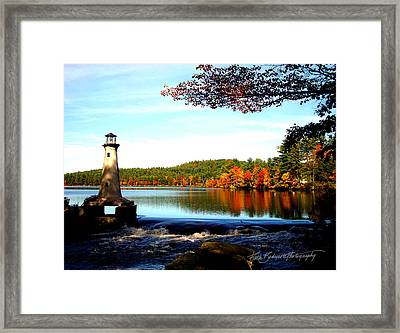 Perfect At Lake Potanipo Framed Print by Ruth Bodycott