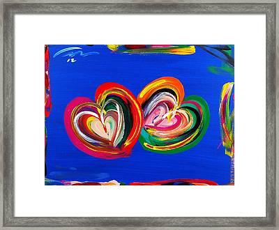 Perfect Couple Framed Print by Mac Worthington