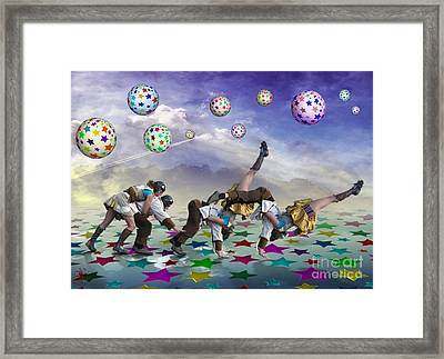 Perfect Coupling Framed Print by Rosa Cobos