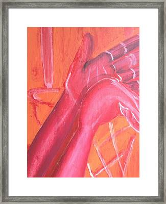 Perfect Form  Framed Print by Brandon King
