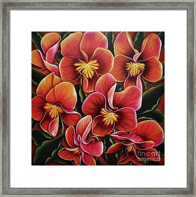 Perfect Love  Framed Print by Paula Ludovino