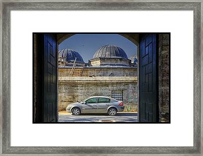 Perfect Placement Framed Print by Joan Carroll