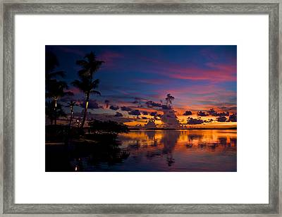 Perfect Reflection Framed Print by Mike Horvath
