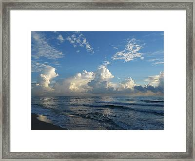 Perfect Space Framed Print by Sheila Silverstein