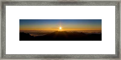 Framed Print featuring the photograph Perfect Sunrise by JM Photography