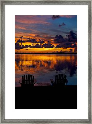 Perfect View Framed Print by Mike Horvath