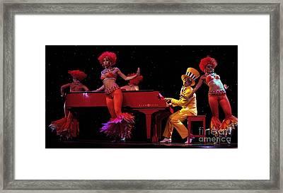 Performance 2 Framed Print by Bob Christopher