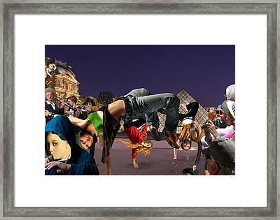 Performance Art Framed Print by Barry Kite