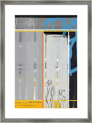 Performers Framed Print by Naxart Studio