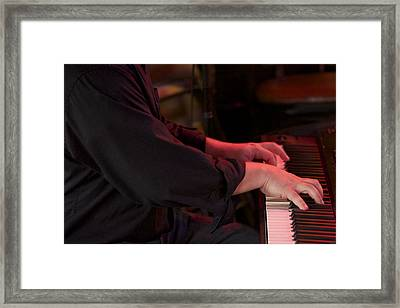 Performing 858 Framed Print by Michael Knight