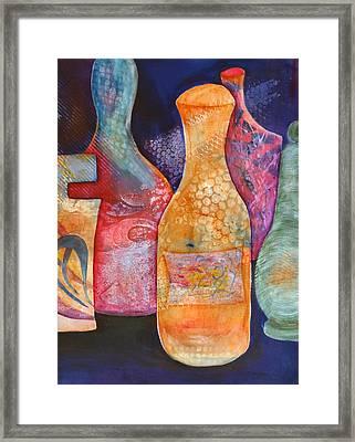 Perfume Bottles 2 Framed Print