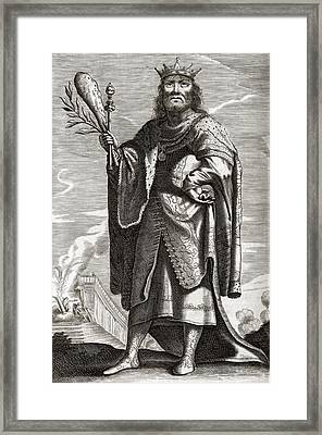 Periander, Greek Tyrant Framed Print by Middle Temple Library