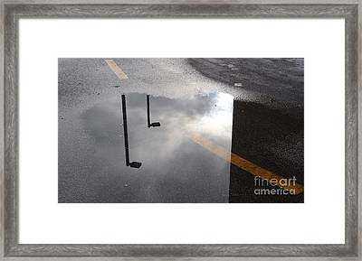Periscopes Framed Print by Luke Moore