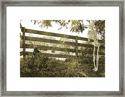 Perplexed  Framed Print