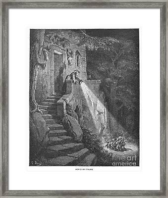 Perrault: Tom Thumb Framed Print by Granger