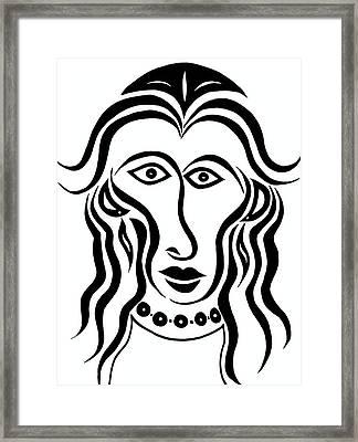 Persephone Framed Print by Beth Akerman