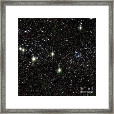 Perseus Double Star Cluster, Infrared Framed Print by 2MASS project / NASA
