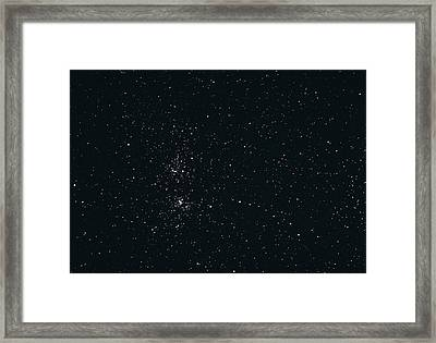 Perseus Double Star Cluster Framed Print by John Sanford