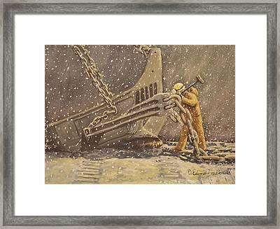 Perseverance Framed Print by Carey MacDonald