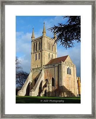 Pershore Abbey Framed Print by Alan Davis