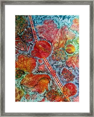 Persian Treasures Framed Print by David Raderstorf
