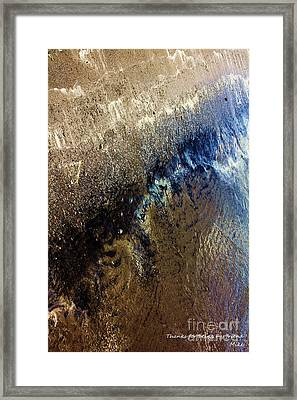 Perso Isea Framed Print by Cazyk Photography