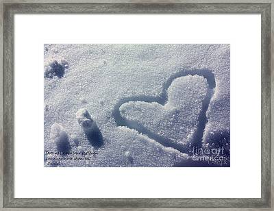 Perso Shanow Framed Print by Cazyk Photography