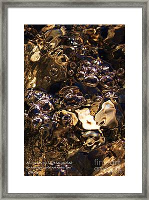 Perso Stower Framed Print by Cazyk Photography