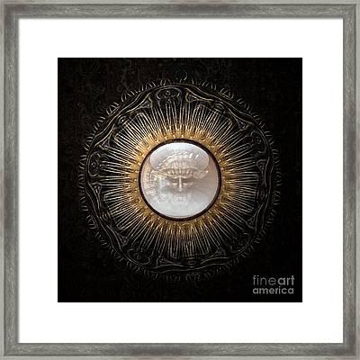 Personal Amulet Framed Print by Jan Willem Van Swigchem