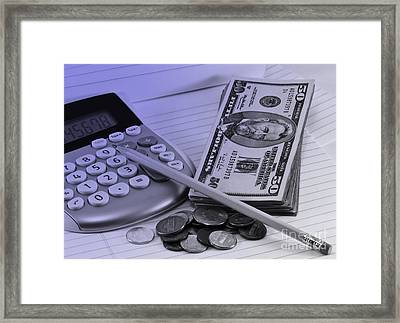 Personal Finance Framed Print