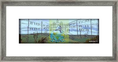 Perspective Bleak Framed Print by Paulo Zerbato