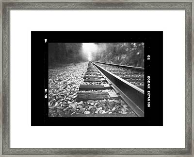 Perspective Framed Print by Dan Wells