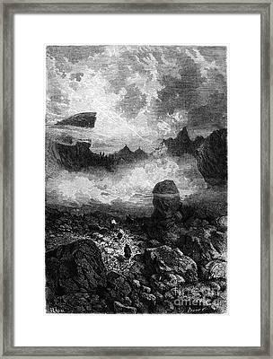 Peru: Cordillera, 1869 Framed Print by Granger