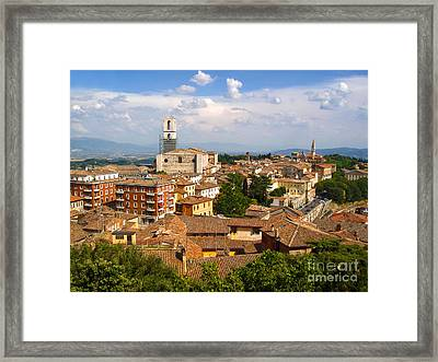 Perugia Italy - 02 Framed Print by Gregory Dyer