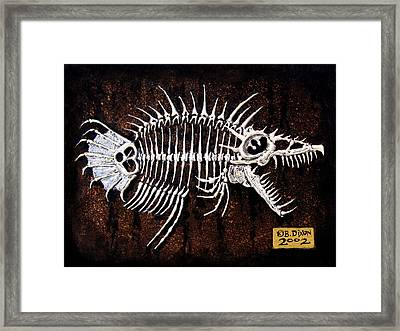 Pescado Dos Framed Print by Baron Dixon