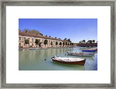 Peschiera Del Garda Framed Print by Joana Kruse