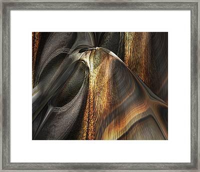 Framed Print featuring the digital art Pet by Steve Sperry