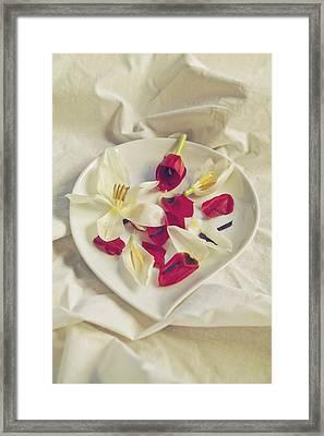 Petals Framed Print by Joana Kruse